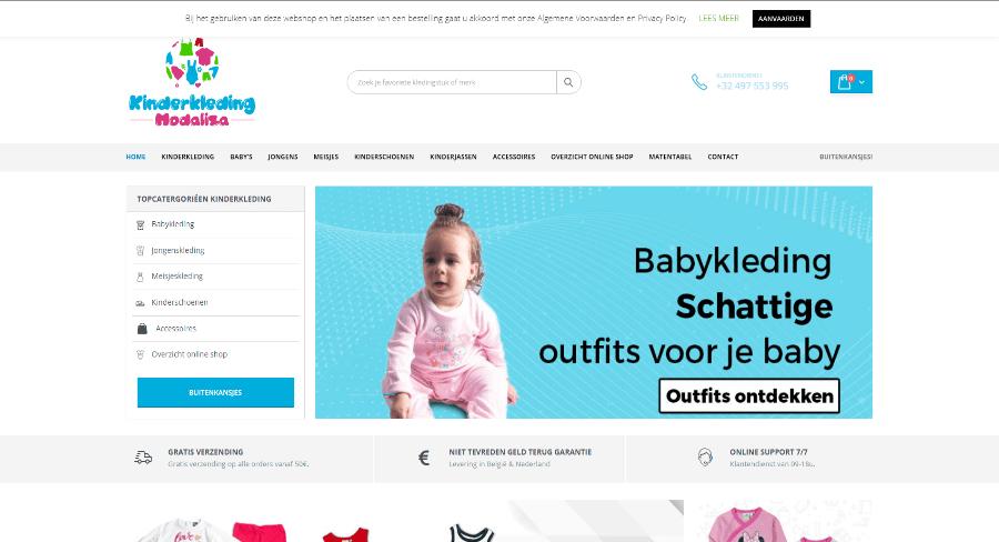 Kinderkleding Modaliza